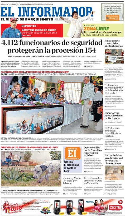 En el informador estamos comprometidos por llevar a ustedes la noticia de una manera veraz, oportuna y objetiva, somos un periódico sincero, familiar y que apoya a la comunidad hispana del oeste de michigan, el informador el periódico que siempre informa la verdad. Opiniones de el informador venezuela