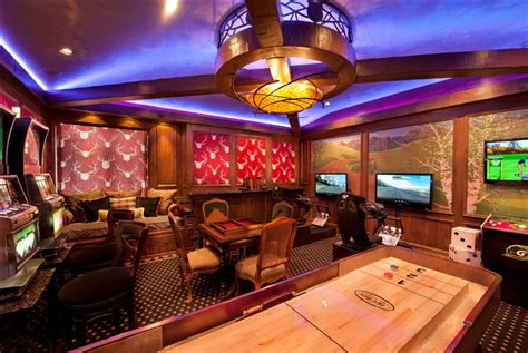 Gameroom : Game And Entertainment Rooms Featuring Witty Design Ideas