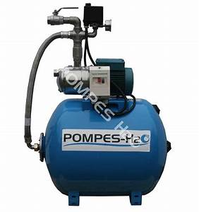Pompe Avec Surpresseur : groupe surpresseur automatique 100l avec pompe jet inox 0 ~ Premium-room.com Idées de Décoration