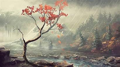 Famous Desktop Painting Wallpapers Landscape