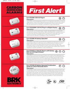 First Alert Carbon Monoxide Alarm Constant Red Light