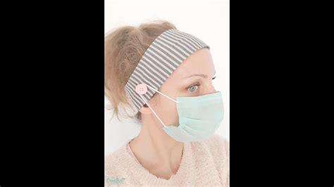 headband pattern  buttons  face masks youtube
