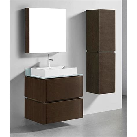 wall mounted medicine cabinet no mirror madeli cube 30 quot wall mounted bathroom vanity for glass