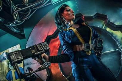 Fallout Vault Tec Dweller Cosplay Games Pc