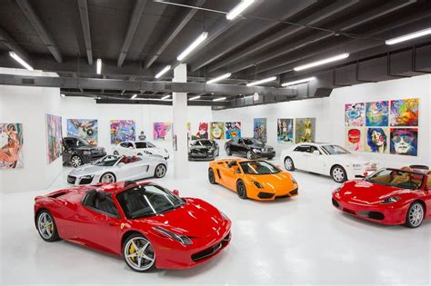 The Lou La Vie Exotic Car Rental Showroom In Downtown