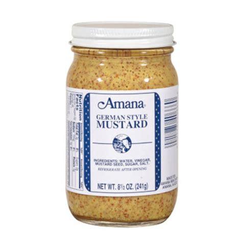 german mustard amana german mustard