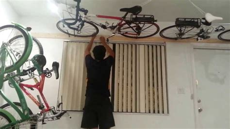 Ceiling Bike Rack Diy by Wall Ceiling Bike Rack 50