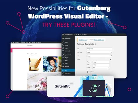 New Possibilities For Gutenberg Wordpress Visual Editor