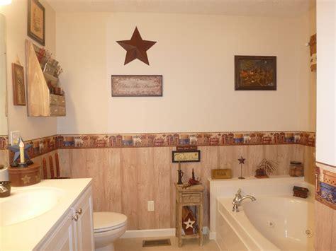 bathroom wallpaper border ideas primitive bathroom collecting prims primitive