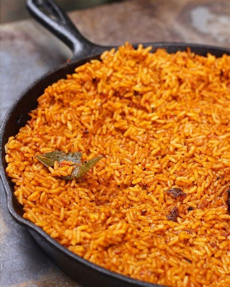 Jollof Rice Recipe Ghana