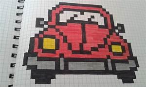 Pixel Art Voiture Facile : voitures en pixel art bricolages de maryline ~ Maxctalentgroup.com Avis de Voitures