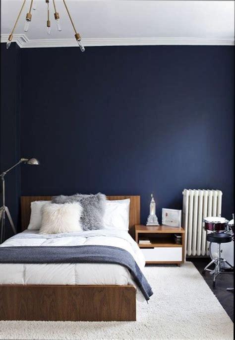 chambre nuit chambre bleu nuit idées novatrices de la conception et