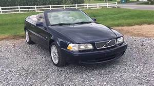2001 Volvo C70 Hardtop Convertible Coupe Leather Nice Top