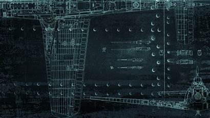 Wallpapers Thunder War Aircraft Structures Blueprints Background