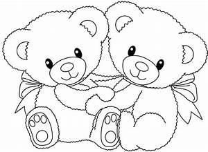Urso para Colorir e Imprimir Muito Fácil Colorir e Pintar