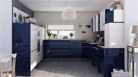 cuisine bleu petrole décorer la cuisine relooking peinture déco carrelage