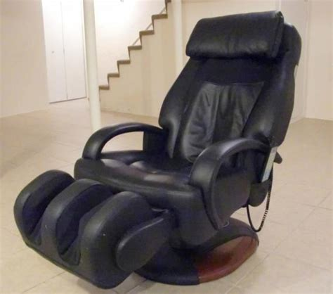 sharper image human touch robotic chair model ht 270