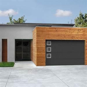 Dimension Porte De Garage Sectionnelle : installation thermique panneau porte sectionnelle vue ~ Edinachiropracticcenter.com Idées de Décoration