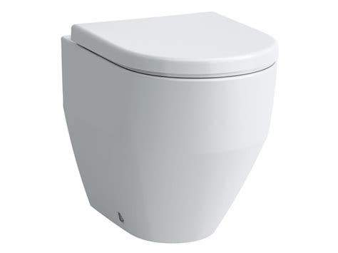 Compact Sinks by Laufen Pro Floorstanding Back To Wall Wc Pan Washdown
