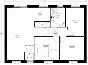 maison individuelle residence picarde 104 h residences With plans de maison en l 0 maison de plainpied 2 detail du plan de maison de