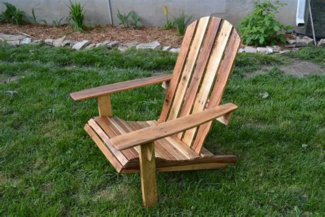 woodwork build adirondack chair  pallet  plans