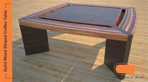 contemporary unique coffee tables striped solid wood design