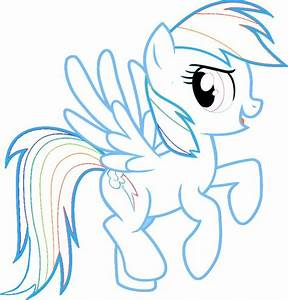 Rainbow Dash My Little Pony Coloring Pages Fun U0026 Learn