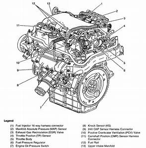 Gm 3 4l V6 Engine Diagram Gas Injector  Gm  Auto Parts