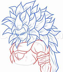 Draw Super Saiyan 5 Goku, Step by Step, Drawing Sheets ...