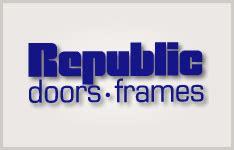 republic doors and frames hollow metal doors and frames innovative construction