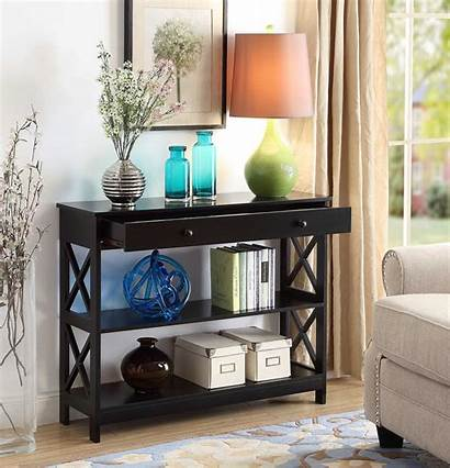 Console Table Oxford Drawer Concepts Convenience Tables