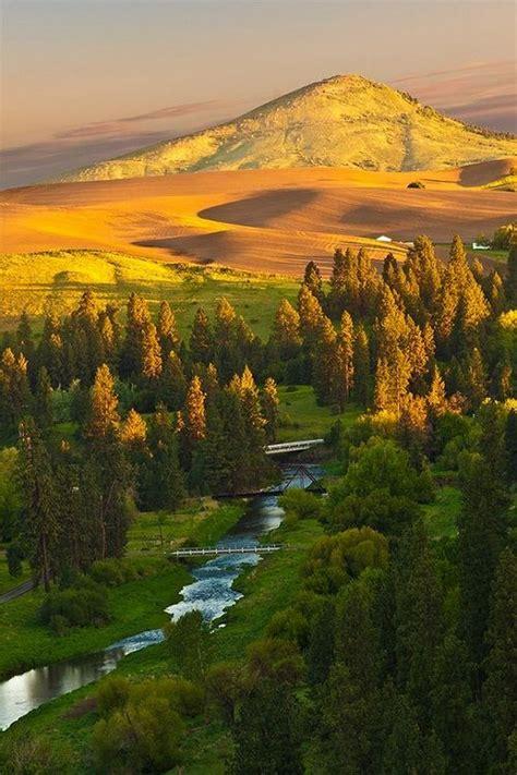 sign  palouse beautiful landscapes beautiful nature
