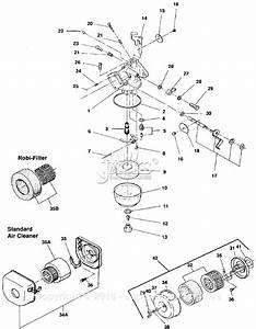 Robin  Subaru Ec10 Rammer Parts Diagram For Carburetor  Air
