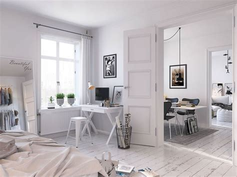 Bright Scandinavian Decor In 3 Small One Bedroom Apartments by 44 Best Scandinavian Style Images On Living