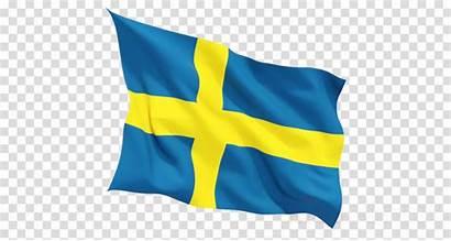 Flag Clipart Cartoon Swedish Transparent Clip Swedan
