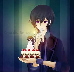 Happy Birthday Lelouch! by LeonLampard on DeviantArt