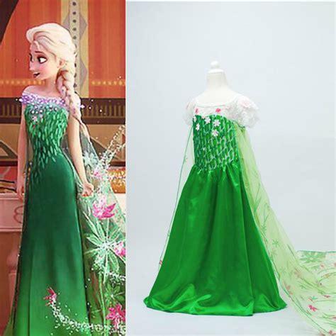 vestidos cortos Picture   More Detailed Picture about disfraces infantiles princesa Elza Dress