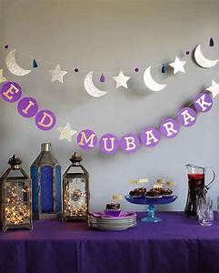 """Eid Mubarak"" Circle Garland Martha Stewart"