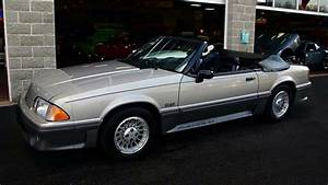 1990 Ford Mustang GT Convertible 5.0 V8 35,xxx Original Miles - YouTube