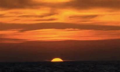 Sunrise Gifs Natural Giphy Sun Sunset Phenomena