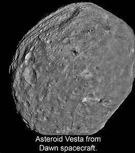 Moon and Rings Vesta Asteroid - Pics about space