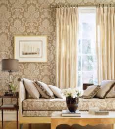 wallpaper livingroom beige damask wallpaper living room
