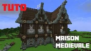 Comment Faire Une Maison : tuto minecraft comment faire une maison m dievale youtube ~ Dallasstarsshop.com Idées de Décoration