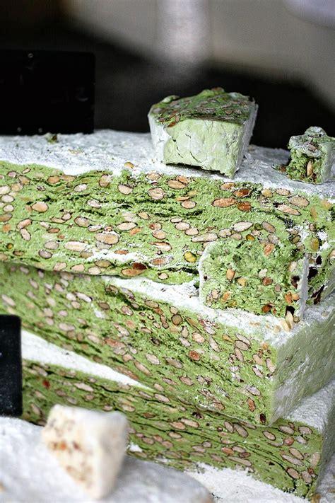 persian pistachio nougat candy recipe