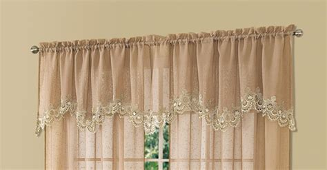 Cavalier Mocha Brown Sheer Scalloped Macrame Lace Trim Led Under Counter Lighting Marine Vanity Light Modern Christmas Tree Lights Brass Ceiling Fan With Hampton Bay Replacement Parts Bathroom Shades Jackets