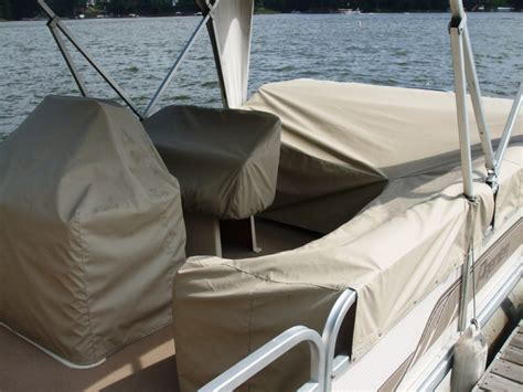 Boat Seat Protective Covers by Pontoon Boat Seat Slip Covers Velcromag