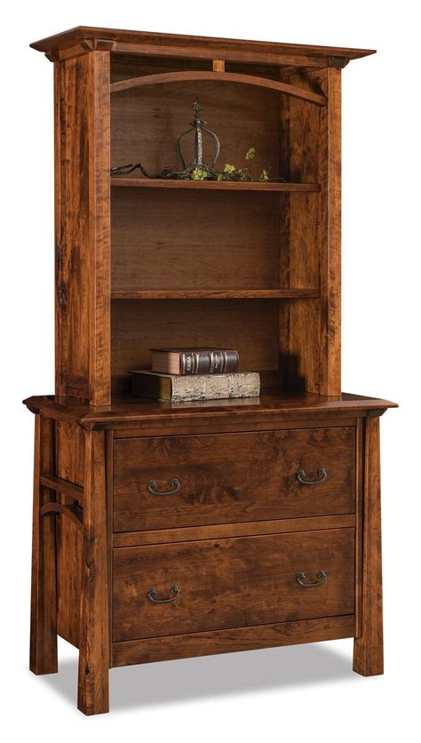 Bookcase With Lateral File Drawer by Atresa Two Drawer Lateral File Cabinet With Bookcase Top From