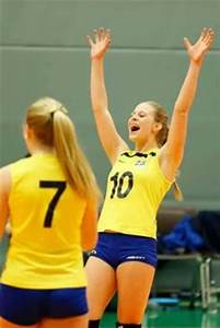 The youngest player in Sweden's national volleyball team ...