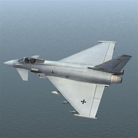 3d Eurofighter 2000 German Model