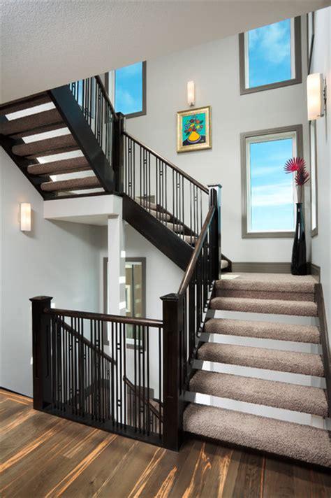 derelict contemporary staircase calgary